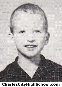 Skip Hancock yearbook picture