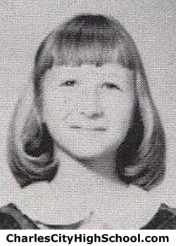 Lorna Allanson yearbook picture