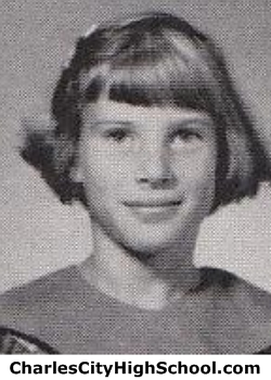 Sharon Pugh yearbook picture