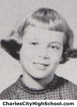 Sue Webb yearbook picture