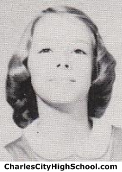 Linda Adams yearbook picture