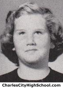 Sara Johnson yearbook picture