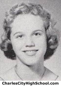 Doris Clark yearbook picture