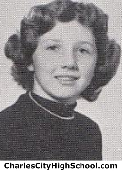 Janet Eargle yearbook picture