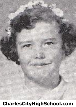 Gloria Martin yearbook picture