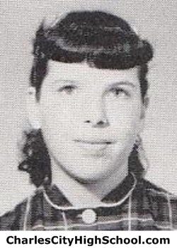 Mary Pyles yearbook picture