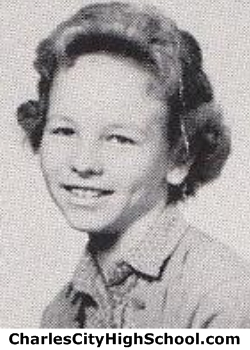 Joan Avery yearbook picture