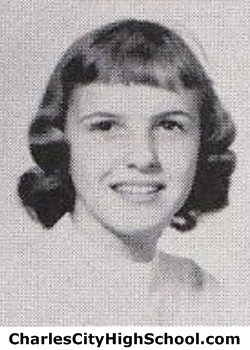 Edna Gunderson yearbook picture