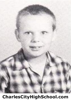 Allen Graves yearbook picture