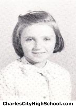 Margie Tench yearbook picture