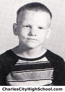 Eric Johnson yearbook picture