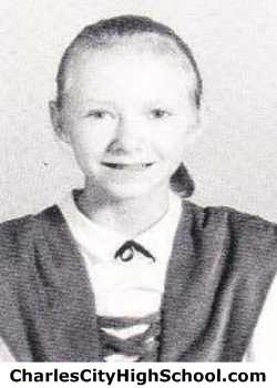 Jackie McCall yearbook picture