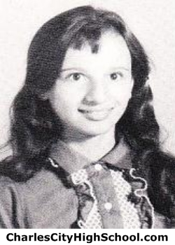 Sue Newland yearbook picture