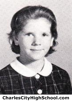 Linda Newton yearbook picture