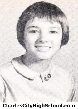 Linda Adams yearbook picture