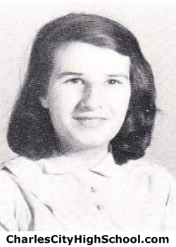 Mae Cox yearbook picture