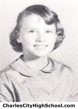 Penny Parson yearbook picture