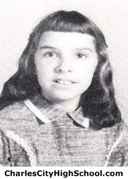 Sandra Spence yearbook picture