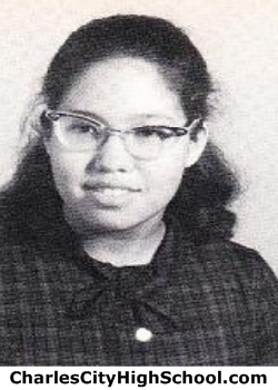 Victoria Bangit yearbook picture