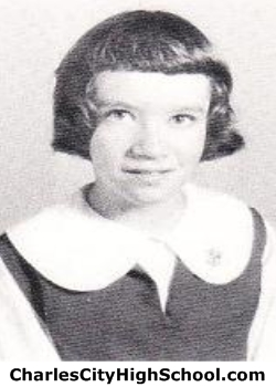 Gwen Pace yearbook picture