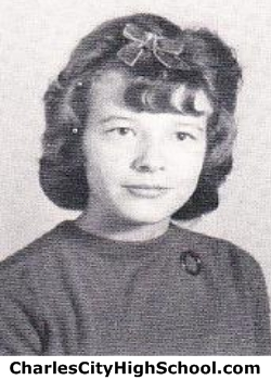 Nancy Bourne yearbook picture