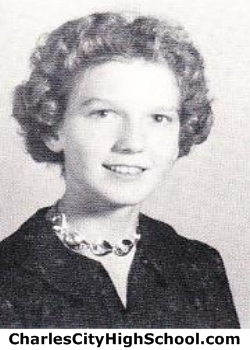 Mary Duke yearbook picture