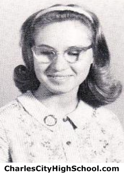 Melody Meador yearbook picture