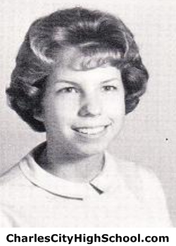 Janet Hunt yearbook picture