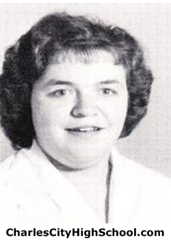 Virginia Marable yearbook picture