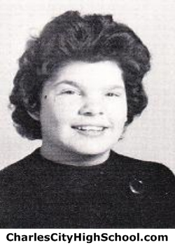 Joyce Waltrip yearbook picture