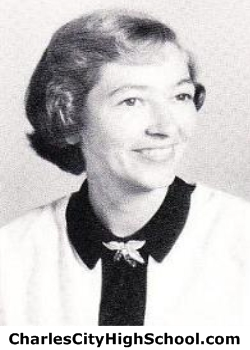 Ann Gerheart yearbook picture