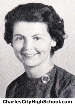 Irene Price yearbook picture