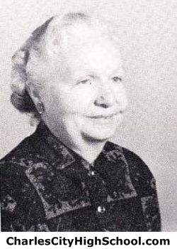 Marie Taylor yearbook picture