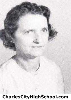 Dora Yates yearbook picture