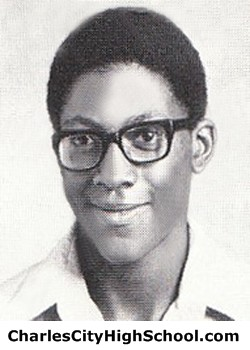 M. Armstead yearbook picture