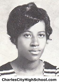 M. Brown yearbook picture