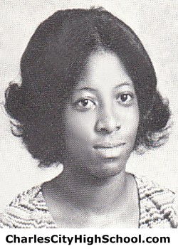 S. Brown yearbook picture
