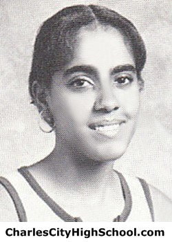 M. Burrel yearbook picture