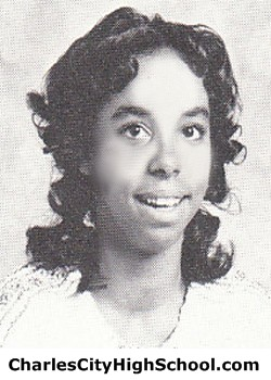 H. Charity yearbook picture