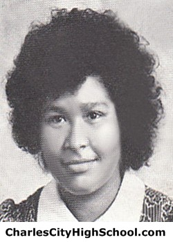 B. Johnson yearbook picture
