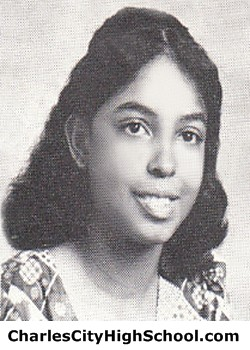 L. Johnson yearbook picture
