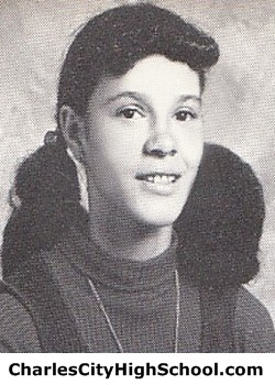 M. Johnson yearbook picture