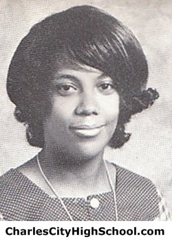 V. Johnson yearbook picture