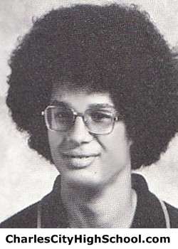 P. Jones yearbook picture