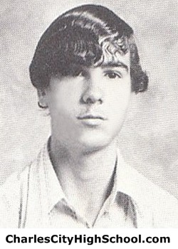D. Ladd yearbook picture