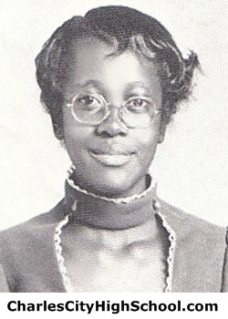 V. Spruell yearbook picture