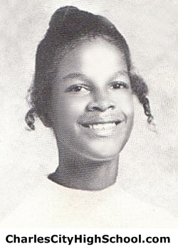 S. Wallace yearbook picture