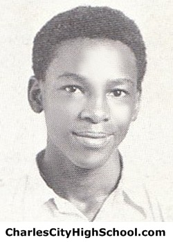 L. Woodley yearbook picture