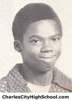 A. Wooldrige yearbook picture