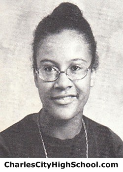 Bertha Barbour Yearbook Picture